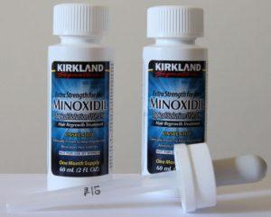 Solutie Minoxidil 5 Kirkland Cresterea Parului – Tratament 2 Luni