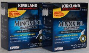 Solutie Minoxidil 5 Kirkland Cresterea Parului – Tratament 12 Luni